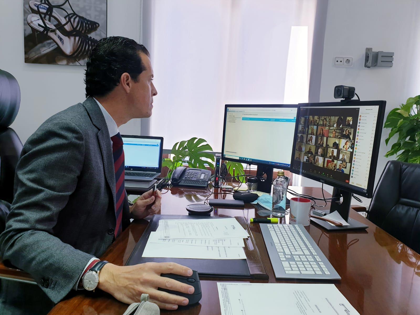 Rubén Alfaro presenta la Red de Entidades Locales para la Agenda 2030 de la FEMP